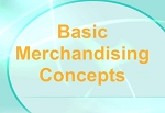 Basic Merchandising Concepts