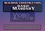 Building Construction: Basic Masonry