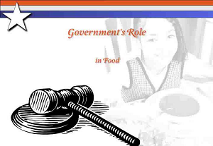 Government's Role in Food