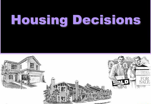 Housing Decisions