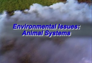 Environmental Issues: Animal Systems