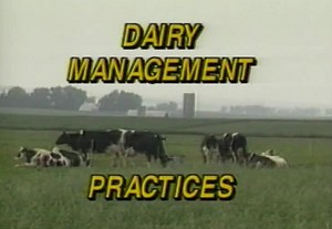 Dairy Management Practices