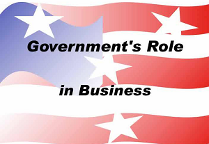 Government's Role in Business