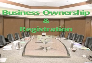Business Ownership & Registration