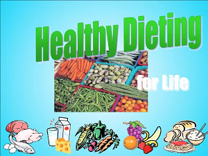 Healthy Dieting for Life